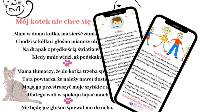 autorskie wierszyki dla dzieci